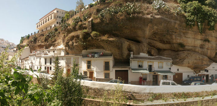Setenil de las Bodegas - Spain-Atypical architecturaly exotic Cities-8