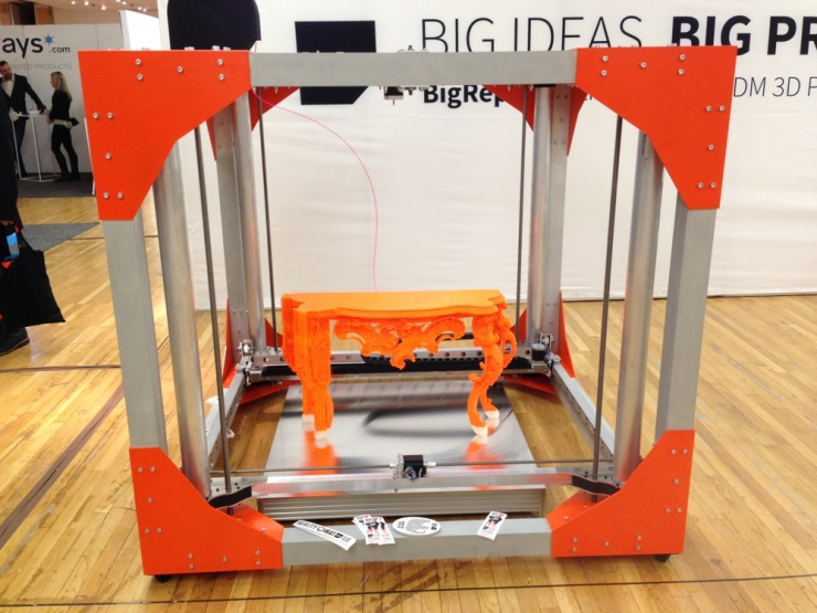 BigRep One 3D Printer For Cost Effective Commercial Printing Of Furniture-