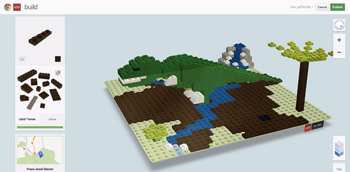 Build With Chrome App Enables You To Build virtual LEGO buildings Anywhere In The World (Video)-