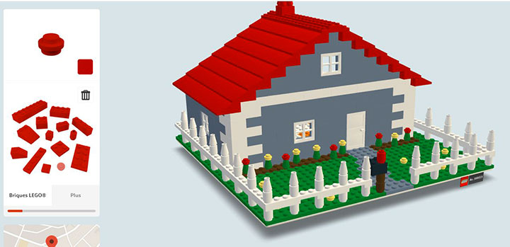 Build with chrome app enables you to build virtual lego House building app