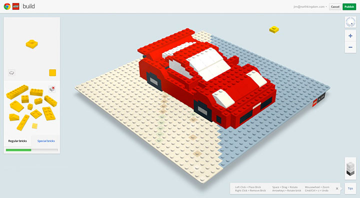 Build With Chrome App Enables You To Build virtual LEGO buildings Anywhere In The World (Video)-4