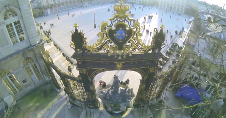 Discover The Beauty Of French City Of Nancy As Filmed By A Drone-4