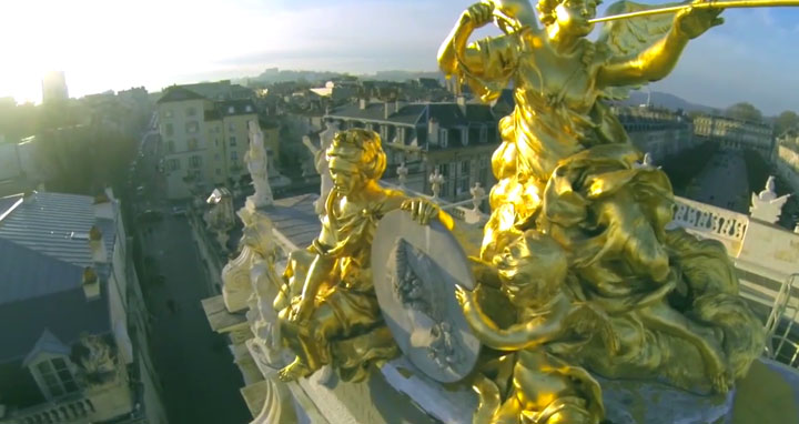 Discover The Beauty Of French City Of Nancy As Filmed By A Drone-8