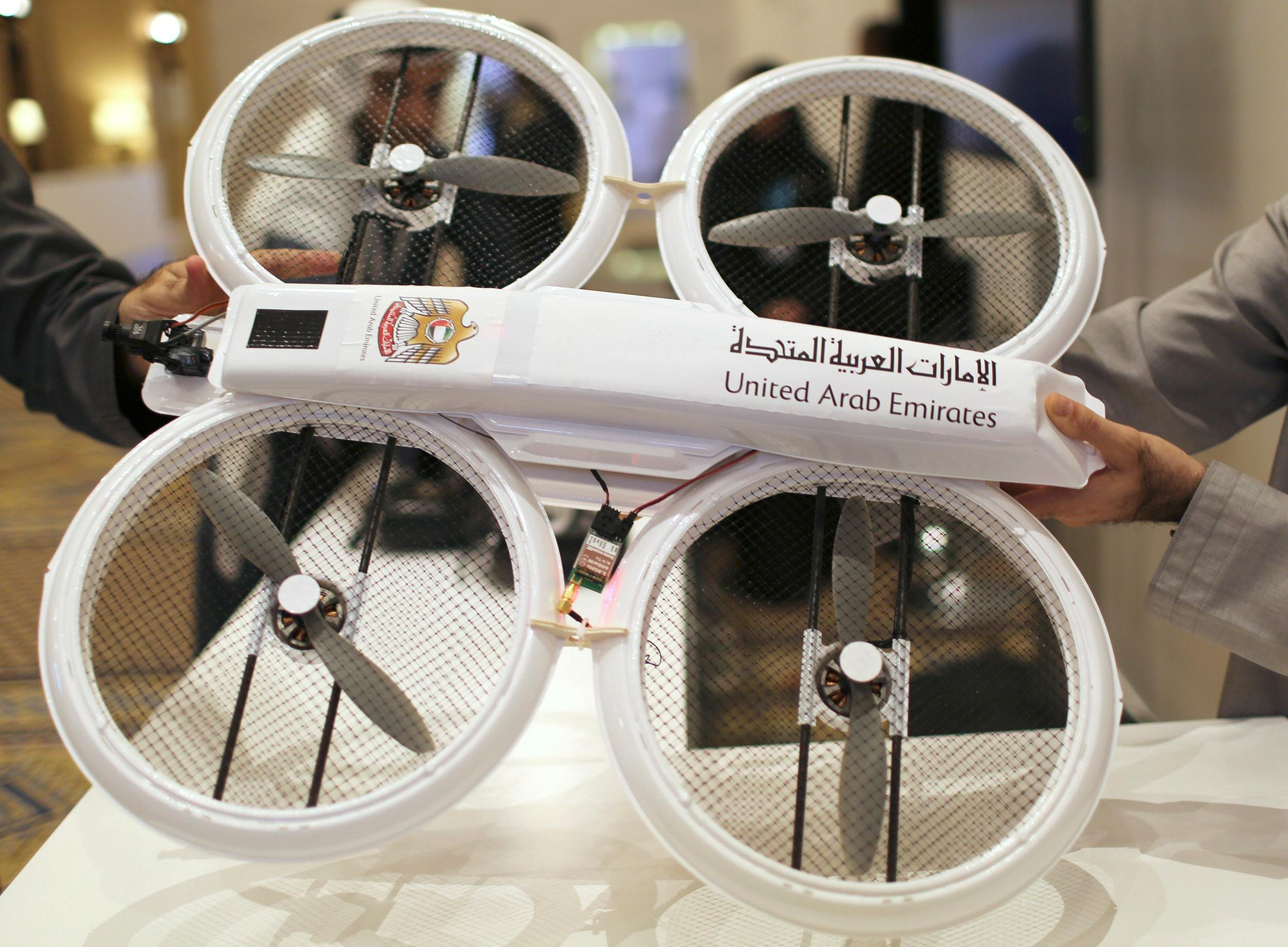 UAE Government Planning To Use Drones For Delivering Official Documents-