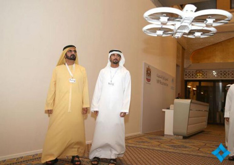 Drones Will Be used by dubai gouvernment-