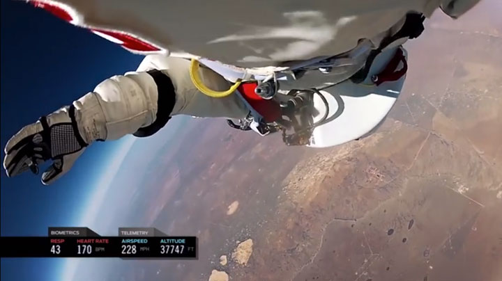 Experience Of World's Highest Jump As If You Were There -11