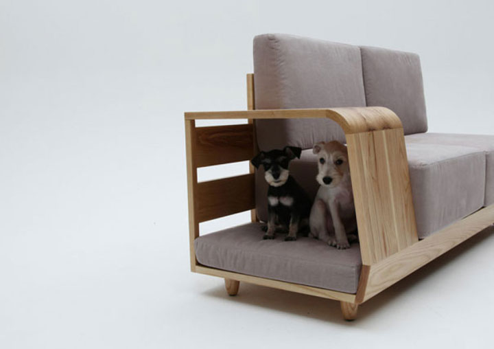 The sofa for cats-Furniture Designs To Make Your Apartment An Animal paradise-3