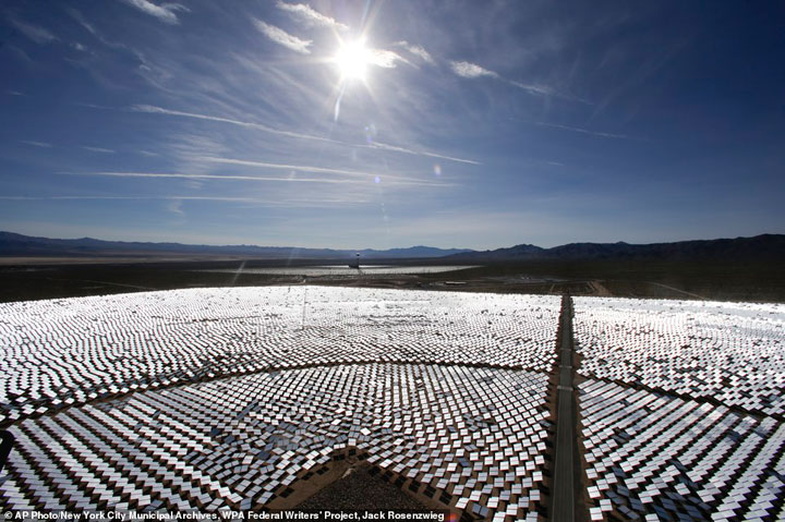 Ivanpah Solar Electric Generating System-World largest power plant can power 140000 homes-4