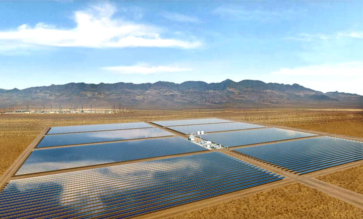Ivanpah Solar Electric Generating System-World largest power plant can power 140000 homes-8