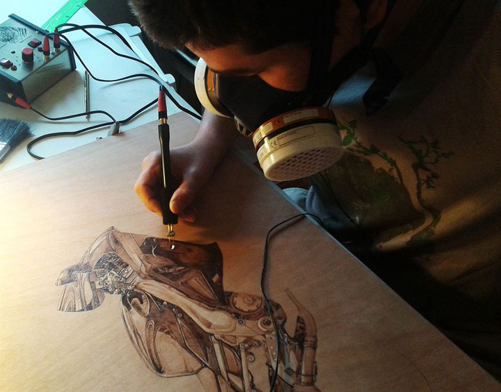 PYROGRAPHY: Impressive Portraits Of Nature Realized By The Careful Burning Of Wood -19