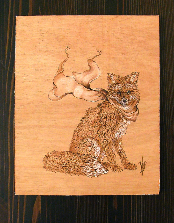 PYROGRAPHY: Impressive Portraits Of Nature Realized By The Careful Burning Of Wood -8