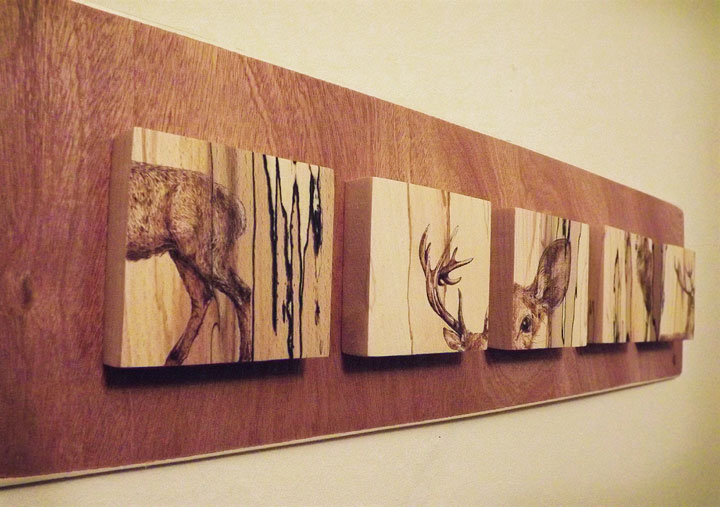 PYROGRAPHY: Impressive Portraits Of Nature Realized By The Careful Burning Of Wood -9