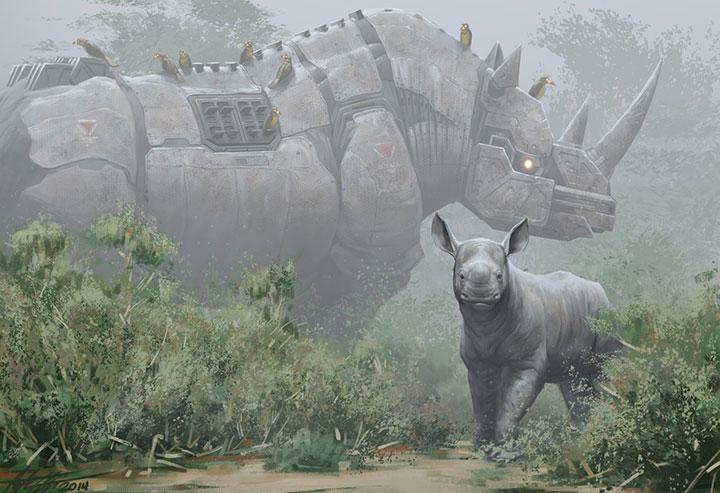 Deviantart Robot Animals: Endangered Robotic Animals Armed To Fight Against Poachers