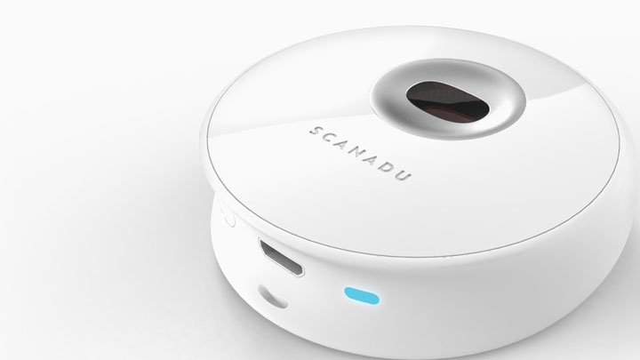 Scandou Scout: Handheld Scanner Analyzes And Communicates Real Time Vital Data-