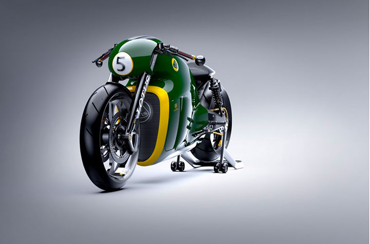 Lotus develops the prototype of Superbike Tron-