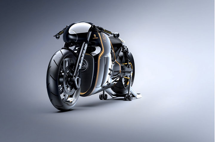 Lotus develops the prototype of Superbike Tron-1