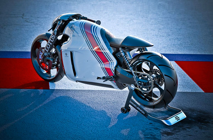 Lotus develops the prototype of Superbike Tron-10
