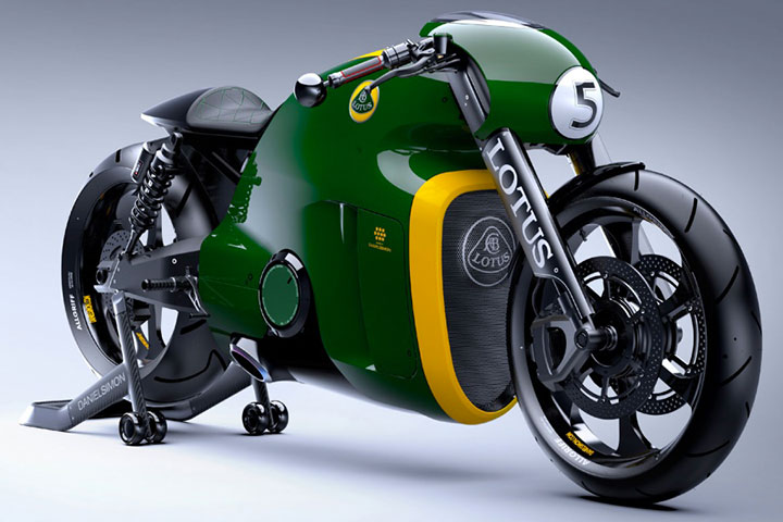 Lotus develops the prototype of Superbike Tron-11