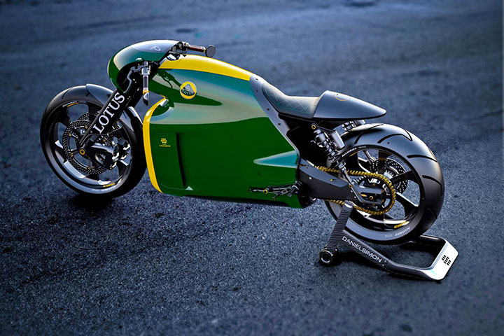 Lotus develops the prototype of Superbike Tron-2