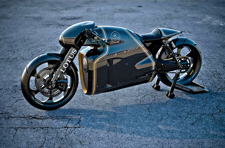 Lotus develops the prototype of Superbike Tron-3
