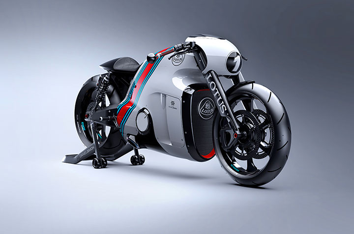 Lotus develops the prototype of Superbike Tron-5