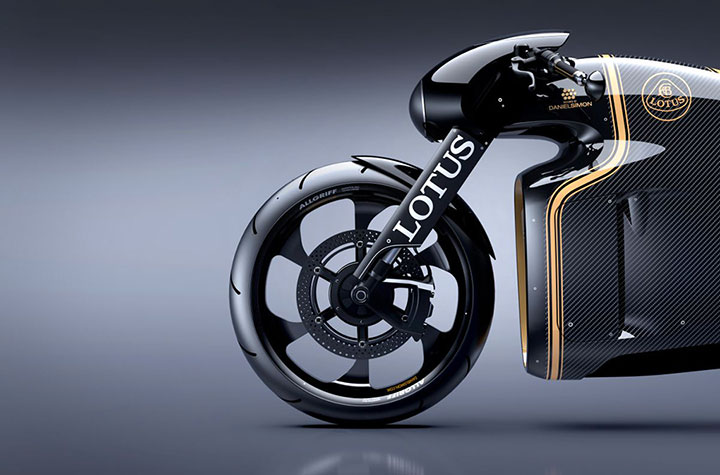 Lotus develops the prototype of Superbike Tron-7