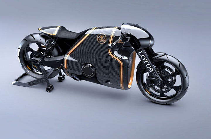 Lotus develops the prototype of Superbike Tron-8