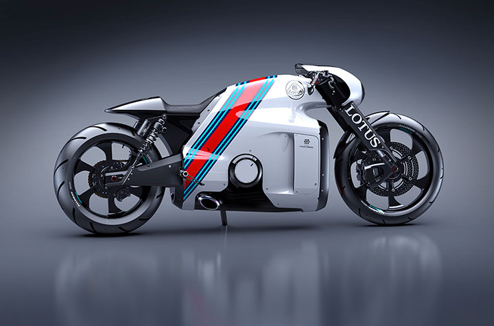 Lotus develops the prototype of Superbike Tron-9