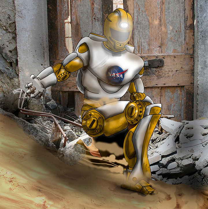 Valkyrie: Nasa's Robotic Superhero To Save Human Lives In Disasters-9