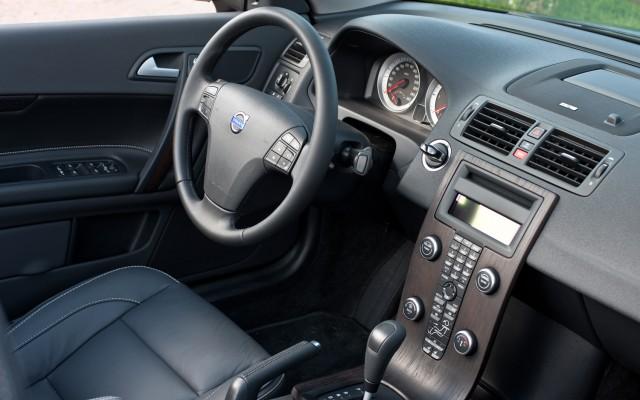 Dashboard of Volvo