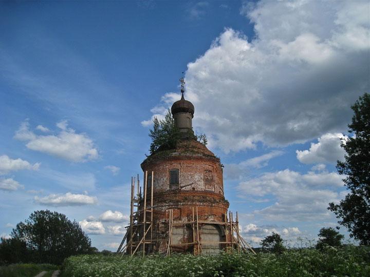 Gorodisch, Russia-Abandoned churches around the world-1