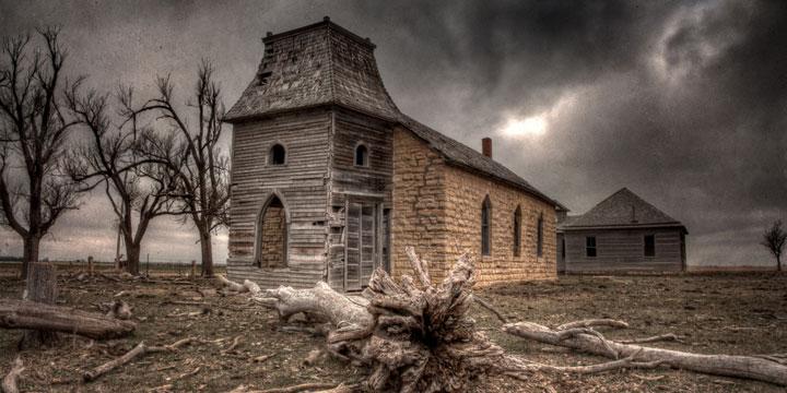 Oklahoma, United States-Abandoned churches around the world-10
