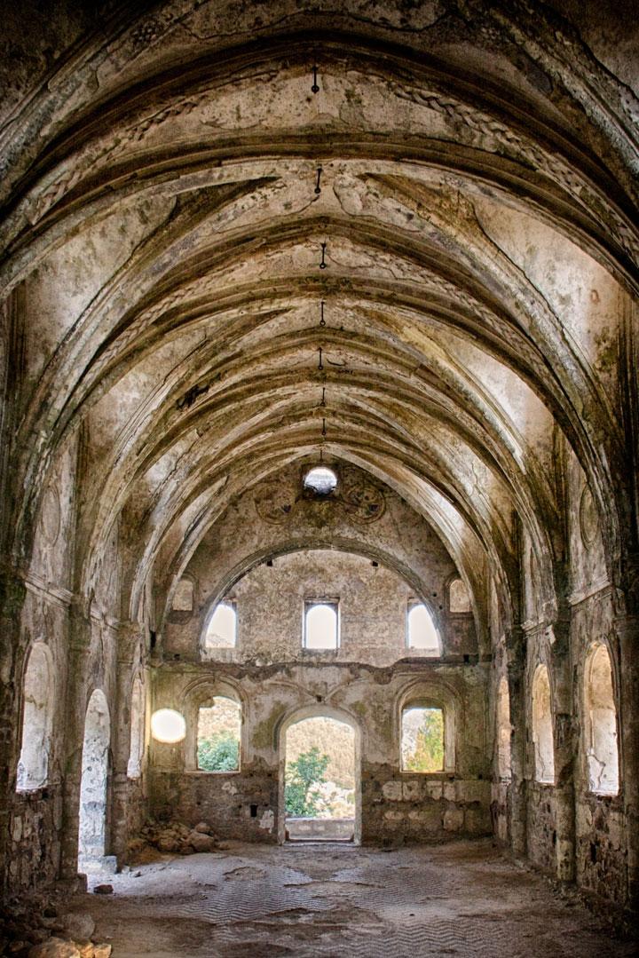 Kayakoy, Turkey-Abandoned churches around the world-14