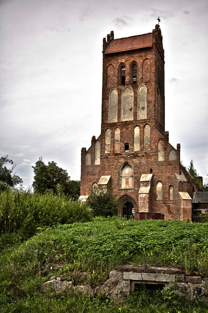 Kaliningrad, Russia-Abandoned churches around the world-18