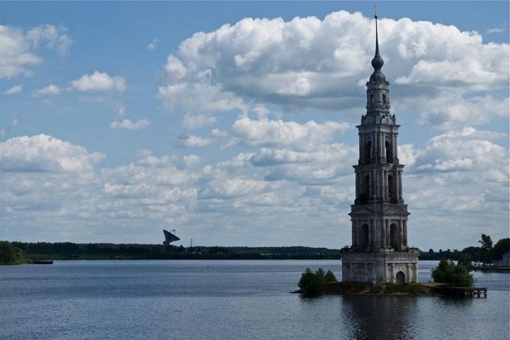 Kalyazin, Russia-Abandoned churches around the world-2