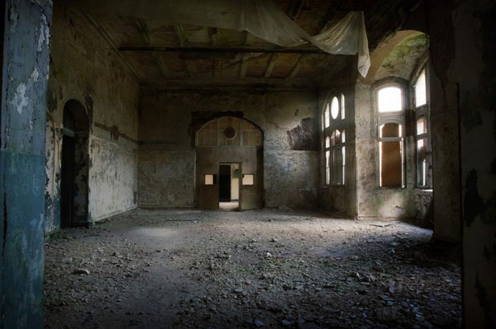 Creepy remains Of Abandoned Hospital where once hitler was treated-13
