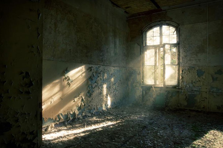 Creepy remains Of Abandoned Hospital where once hitler was treated-8