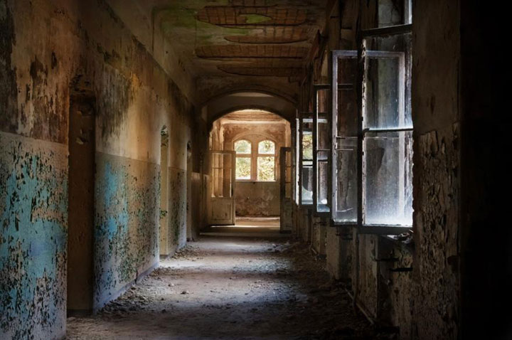 Creepy remains Of Abandoned Hospital where once hitler was treated-9