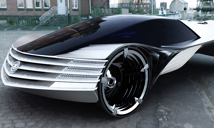This Concept Car Is Capable Of Running A Century Without A Refill-3