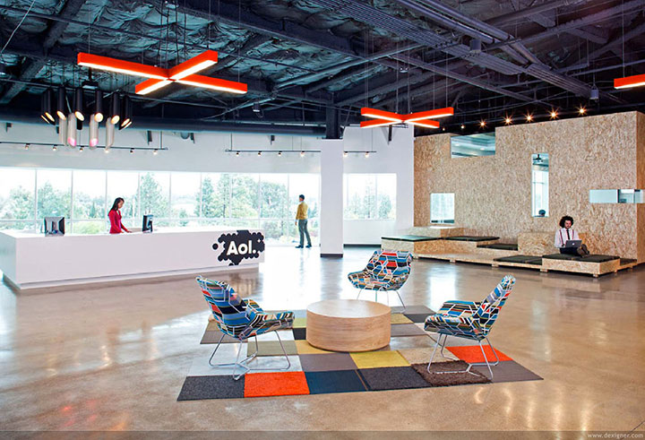 AOL in Palo Alto-15 Cool Offices Where You Would Want To Work All Your LIfe -10
