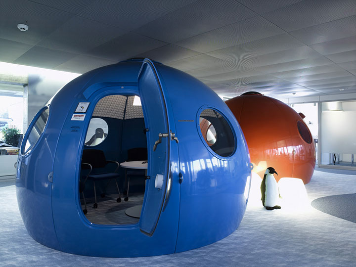 Google Zurich-15 Cool Offices Where You Would Want To Work All Your LIfe -16