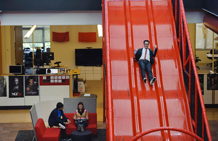 YouTube in San Bruno-15 Cool Offices Where You Would Want To Work All Your LIfe -3