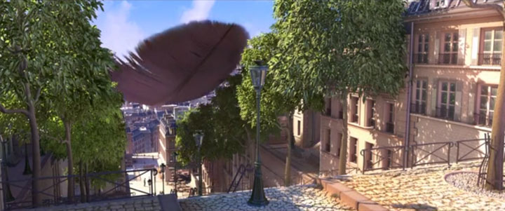 Douce Menace: An Animated Film In Which City Of Paris Is Destroyed By A Giant Pigeon-