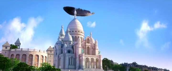 Douce Menace: An Animated Film In Which City Of Paris Is Destroyed By A Giant Pigeon-5