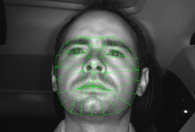 Face Recognition based on Width of Eyes and Position of Driver