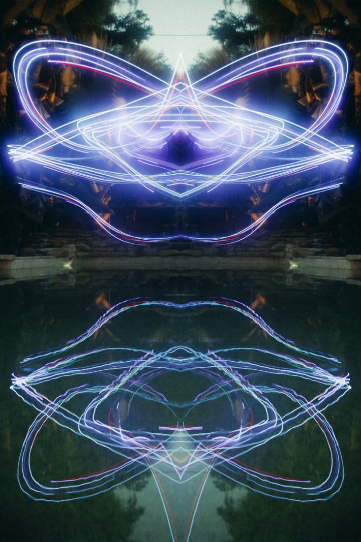 Long Exposure Photography-Examples Of Beautiful Light Painting Using Drones-2