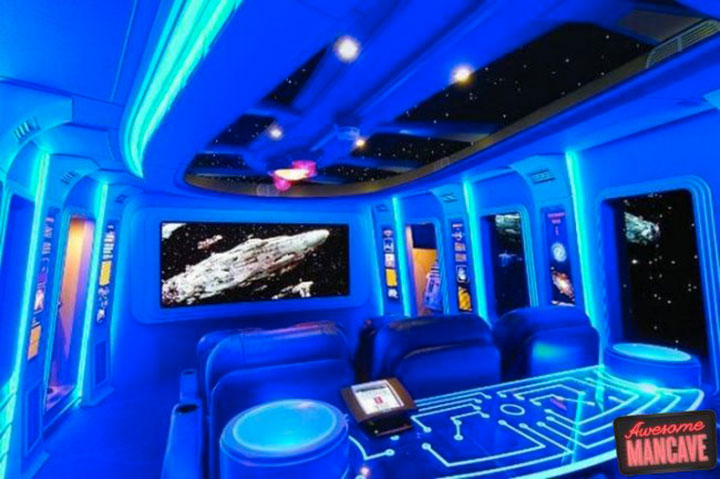 Geek Culture: Top 20 Examples Of Geek Living Rooms -