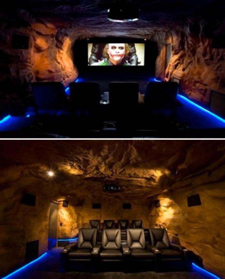 Geek Culture: Top 20 Examples Of Geek Living Rooms -10