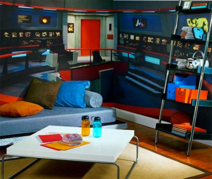 Geek Culture: Top 20 Examples Of Geek Living Rooms -12