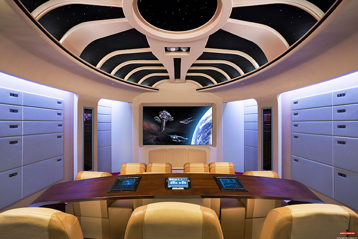 Geek Culture: Top 20 Examples Of Geek Living Rooms -19